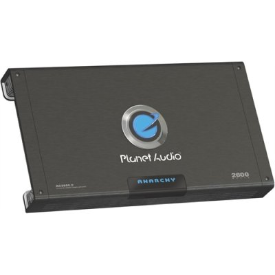 Planet Audio Ac2600.2 2600W 2 Channel Car Amp Amplifier