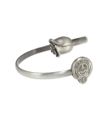 NECA The Hunger Games: Catching Fire Metal Rose and Capitol Seal Bracelet