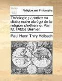 Thologie Portative Ou Dictionnaire Abr
