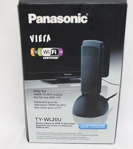 Panasonic TY-WL20U Wireless Adapter for Panasonic 2012 Internet Ready TVs by Panasonic