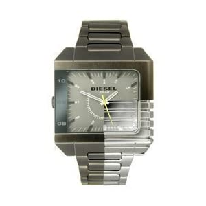 Diesel Analog Gunmetal Bracelet Grey Dial Men's watch #DZ1377