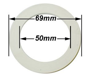 Cafe and Tracanzan 4 Cup Espresso Coffeemaker Replacement Gasket by Cuisinox