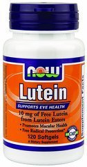 Now Foods Lutein Esters, 120 Softgels / 10Mg