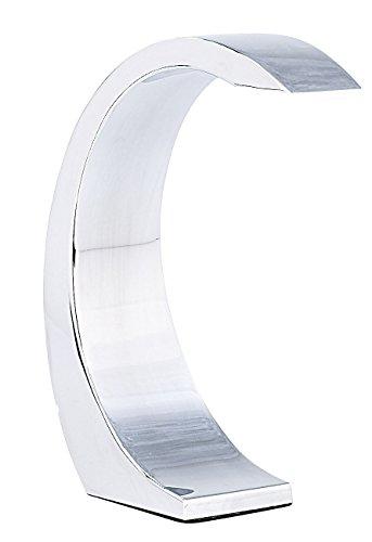 Lunartec-5-Watt-LED-Design-Tischlampe-Silver-Moon-mit-Sensorschalter