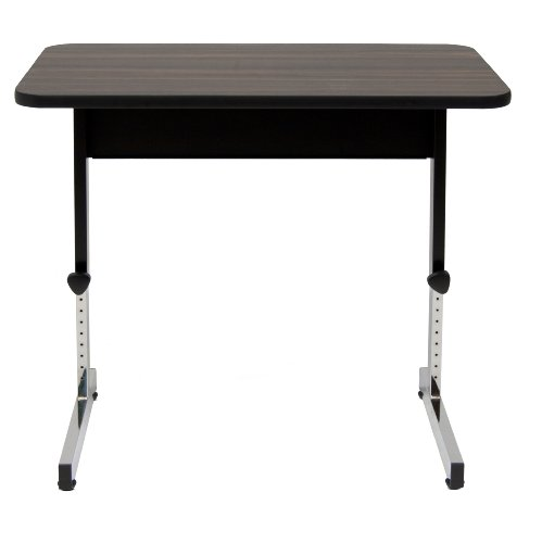 Adapta Table 20 x 36 - Black / Walnut