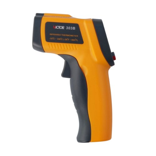 Victor Vc303B 12:1(D:R) Non-Contact Infrared Thermometer Ir Temperature Tester