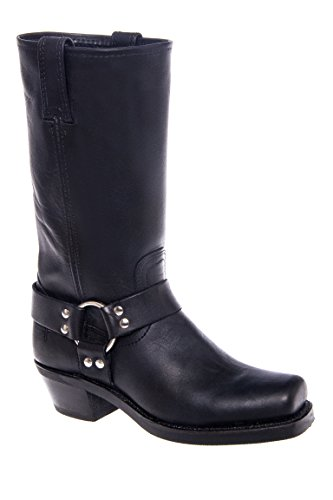 Frye Harness 12r Low Heel Square Toe Boot