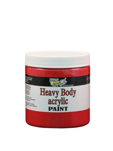 handy-art-by-rock-paint-706-040-heavy-body-acrylic-paint-1-bright-red-8-ounce
