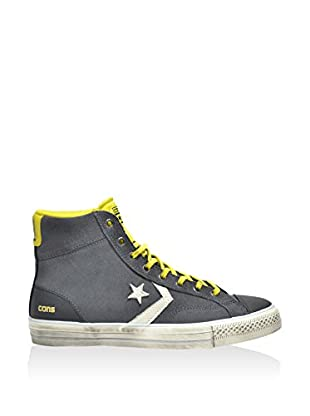 Converse Zapatillas abotinadas Star Player Hi (Antracita / Amarillo)