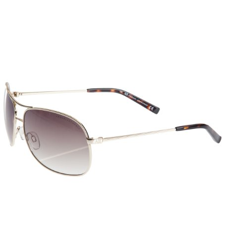 Armani Exchange Wireframe Aviator Sunglasses