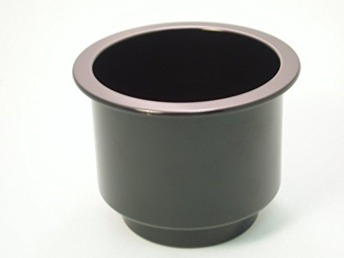 Black Plastic Cup Holder Insert Boat Rv Sofa or Poker Table (Rv Sofas compare prices)
