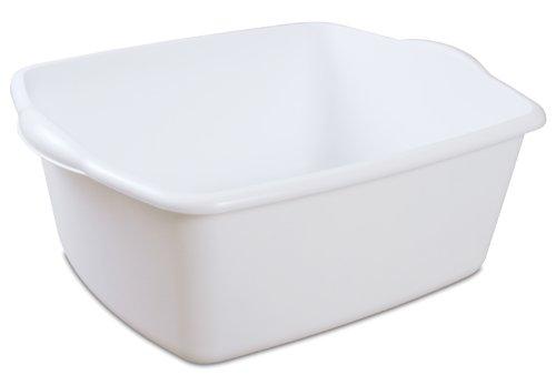Sterilite Dish Pan, 18 quart (Plastic Wash Tub compare prices)
