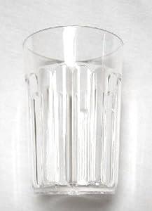 Bradshaw 22300 Crystal Clear Acrylic Plastic Tumbler 6 Oz. (Pack of 6)
