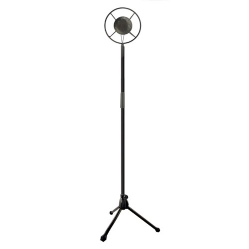 Nava Vintage Microphone Hollywood Collapsible Iron Model Props Wedding Photographing