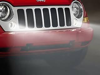 07-09 Jeep Wrangler New Front Fog Lamps Lamp Kit Mopar Factory Oem