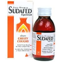 Sudafed Chesty Cough Expectorant Non-Drowsy 100ml