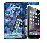 hsini Tempered Glass Screen Protector for iPhone 6 Plus - Retail Packaging - Transparent