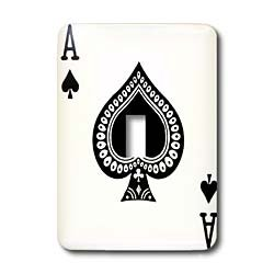3dRose LLC lsp_76552_1 Ace Of Spades Playing
