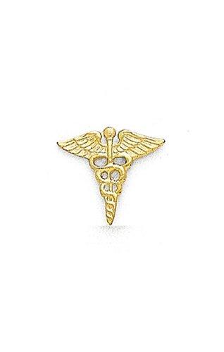 14K Yellow Gold Caduceus Tie Tac-88665
