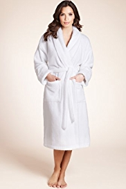 Plus Shawl Collar Cosy Dressing Gown - additional sizes