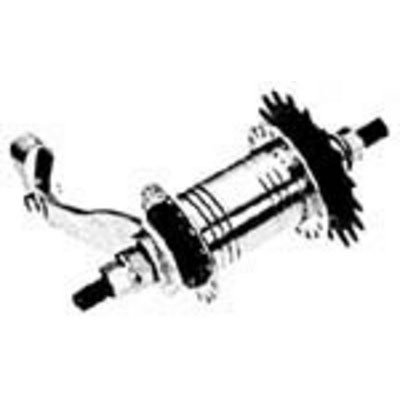 KT Coaster Brake Hub 36H x .105G, E Type with Trim Kit
