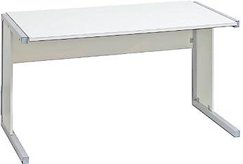 Noir et blanc–1200mm rectangulaire Desk, bureau/côtés