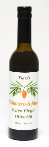 Plato's Habanero Infused Olive Oil 375mL - Mild by 