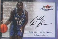 Darrell Armstrong Orlando Magic 2000 Fleer Autographics Autographed Hand Signed... by Hall+of+Fame+Memorabilia