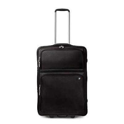 BMW Genuine Logo Wheeled Trolley Travel Bag Suitcase (80 22 2 166 596) by BMW