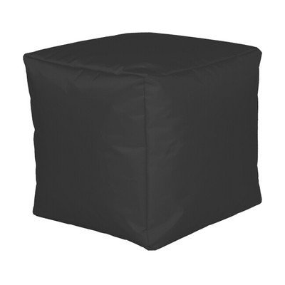 Dadi dimensioni seduta: 40 cm H x 40 cm L x 40 cm P, colore: Nero