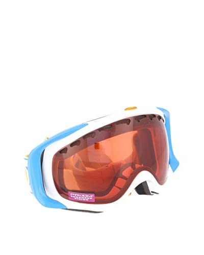 Oakley Máscara de Esquí Crowbar Mod. 7005N Clip Azul / Blanco