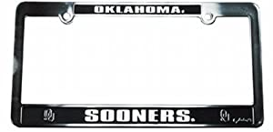 Buy NCAA Oklahoma Sooners Car Tag Frame by Game Day Outfitters