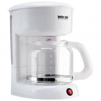 Better Chef 12 Cup White Coffeemaker IM-111W