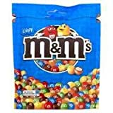 M & M's Crispy Pouch Chocolate Sweets - 11 x 155gm