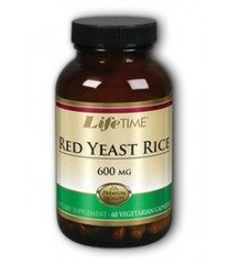 Red Yeast Rice 600 Mg Lifetime 60 Vcaps