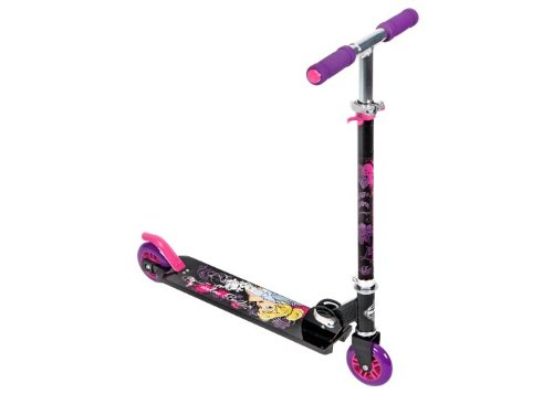 Huffy Disney Fairies Tinkerbell Folding Scooter front-102084