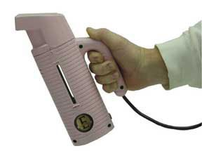 Jiffy Esteam Hand Held Travel Steamer. Breast Cancer Care Pink Edition.