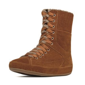 FitFlop Boots Polar Sneaker Brown Sugar