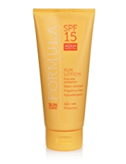 Formula SPF15 Medium Protection Sun Lotion 200ml