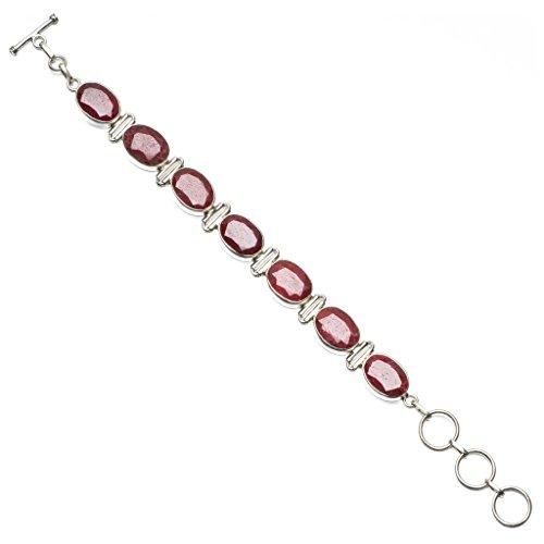 stargems-tm-ciliegio-naturale-rubino-braccialetto-in-argento-sterling-925-6-3-4-8-
