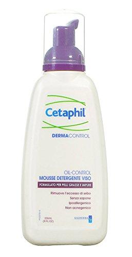 Mousse Detergente Per Il Viso Per Pelli A Tendenza Aceica Cetaphil Dermacontrol 236 Ml