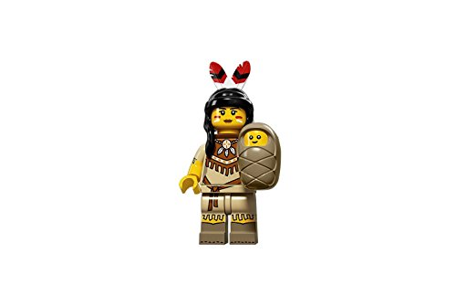 LEGO-Series-15-Collectible-Minifigure-71011-Tribal-Woman-with-Baby