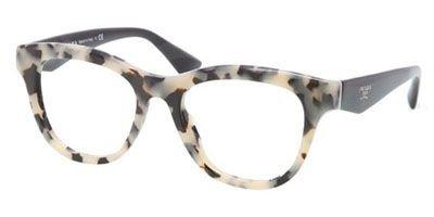 pradaPrada PR04QV Eyeglasses-KAD/1O1 White Havana-49mm