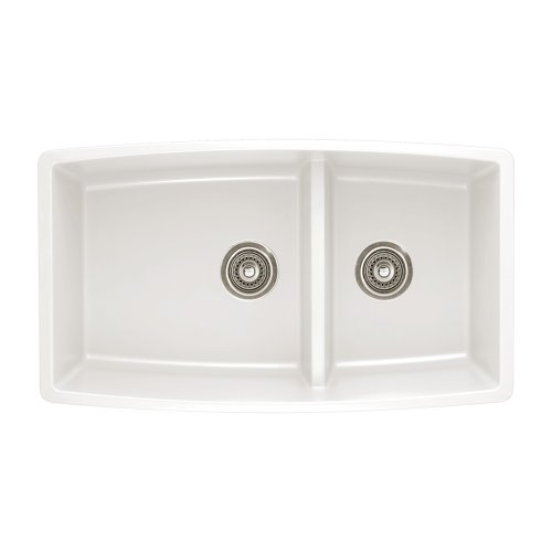 Why Should You Buy Blanco 441310 Performa 1.75 Medium Bowl Sink, White