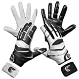Cutters Gloves C-TACK Revolution Yin Yang Football Gloves (Black, Small)