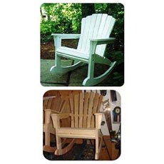 Rocking Adirondack Chair Plan
