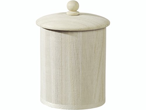 KnorrPrandell 6.5 x 8.5 cm FSC Round Wooden Box, Natural