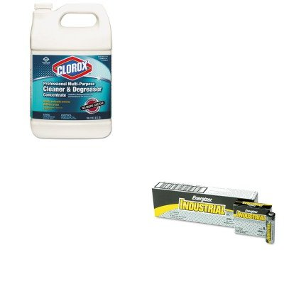 Kitcox30861Eveen91 - Value Kit - Clorox Professional Multi-Purpose Cleaner Amp;Amp; Degreaser (Cox30861) And Energizer Industrial Alkaline Batteries (Eveen91) front-603693