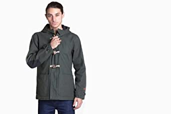 Obey Men's Porter Jacket (Dark Army) S