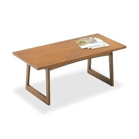 Safco 7964MO Coffee Table, 42 in.x21 in.x16 in., Medium Oak